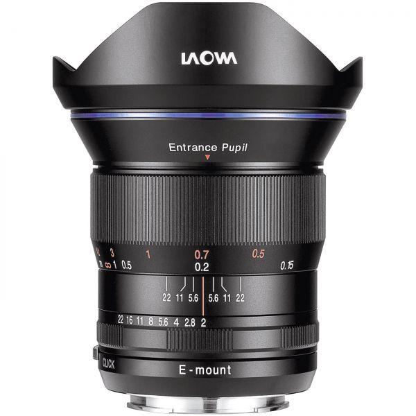 DL - Laowa 15mm f/2 FE Zero-D Sony E Vollformat + APS-C