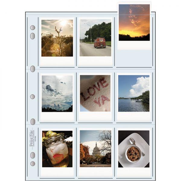 PrintFile® Bilder-Ordnerhüllen 120-9HB für 9x 6x9cm PP