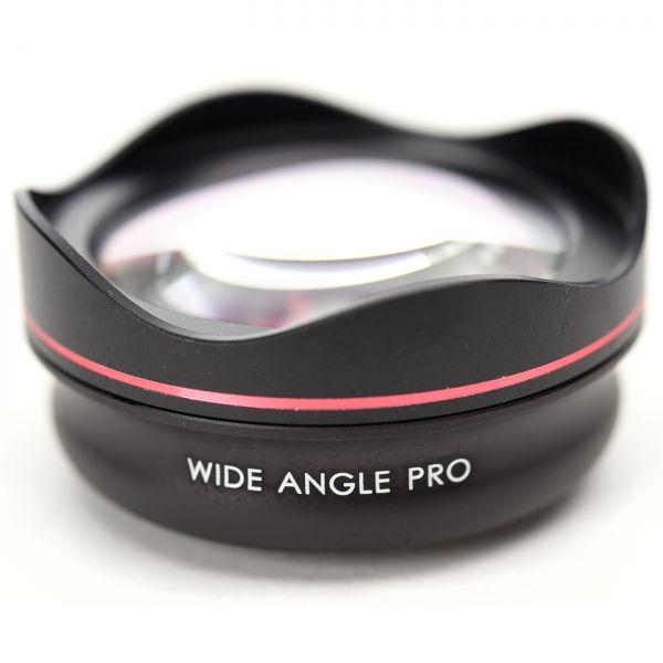 Smartphone-Objektiv PRO 18 mm mit Klipp