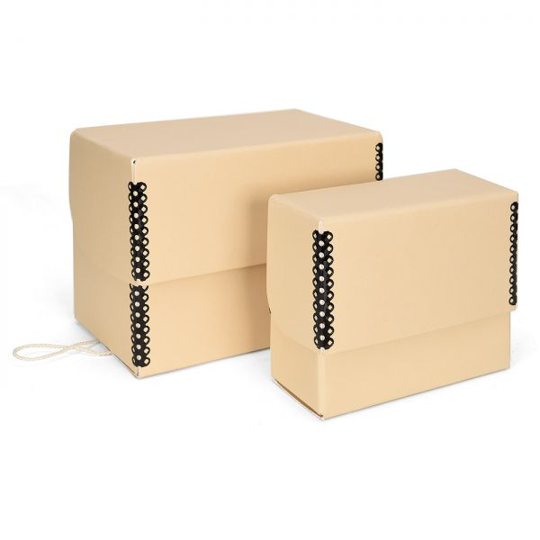 Print File® Fliptop-Box creme
