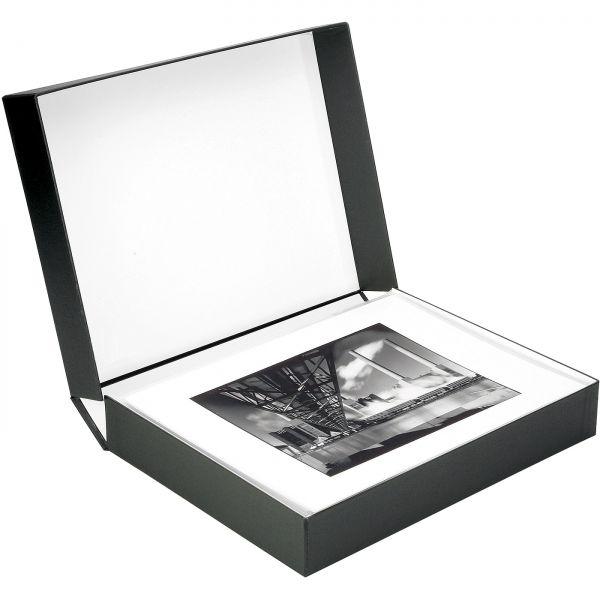 Monochrom Portfoliokassetten