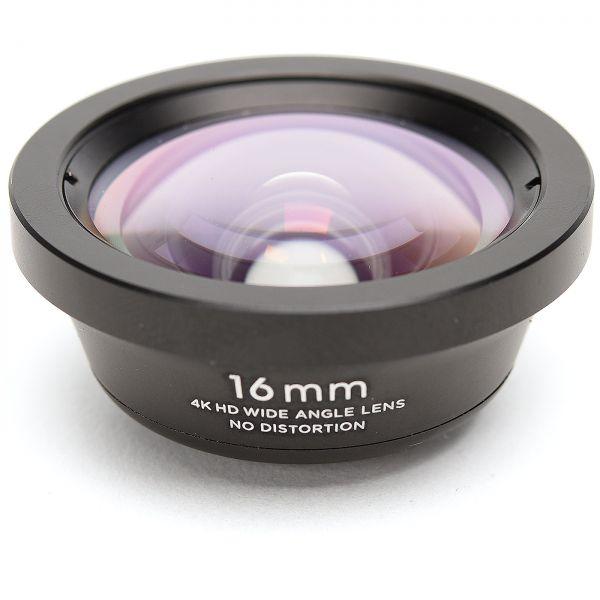 Smartphone-Objektiv 16 mm 4K HD Weitwinkel