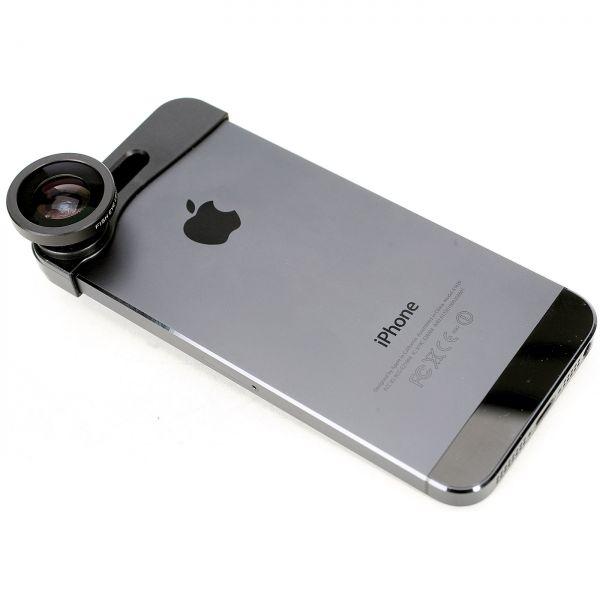 Monoklip für iPhone 6 - Fischauge, Makro, Weitwinkel