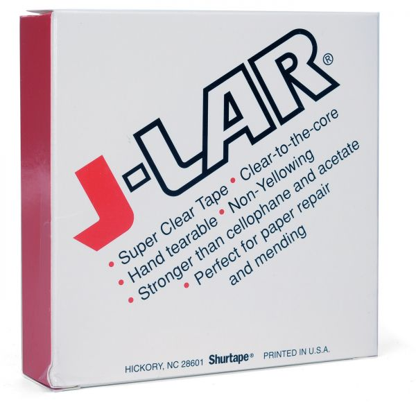 """J-LAR """"Clear-to-the-Core"""" tape"""