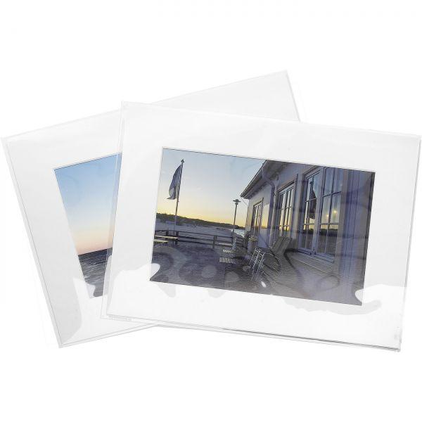 Polyestertaschen für Format 18 x 24 cm / 25 Stück