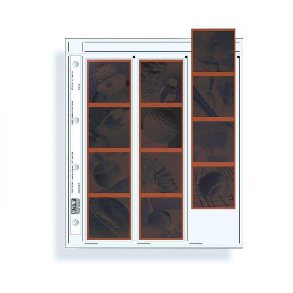 PrintFile® Negativ-Ordnerhüllen ULT120-3HB für 4 Streifen 6x6 Ultima PP