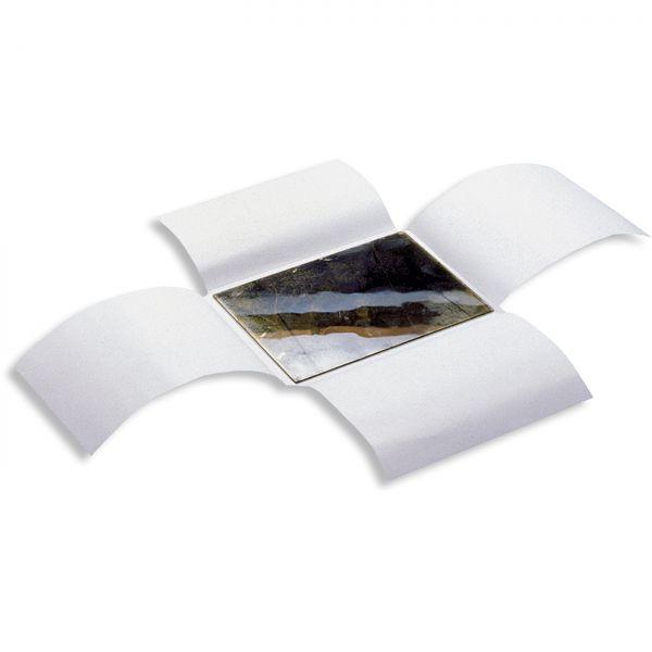 Monochrom® Glasplatten-Klappumschläge