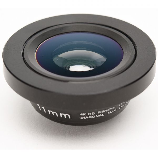 Smartphone-Objektiv 11 mm 4K HD Fisheye