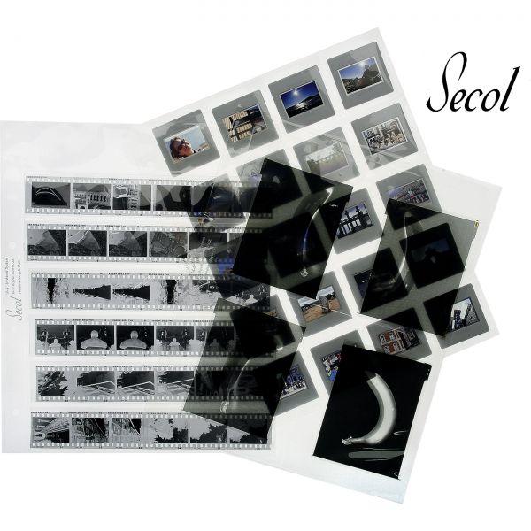 Secol Negativ-Ablage- und Kontaktblätter 100% Polyester