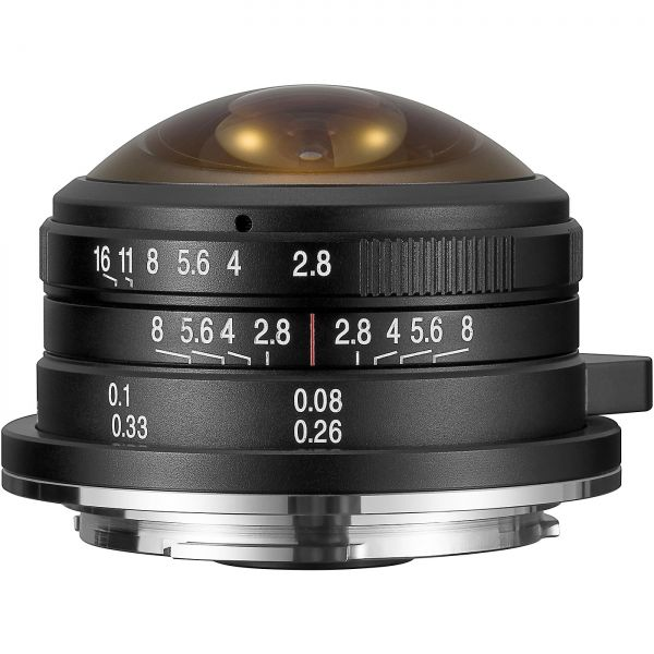 DL - LAOWA 4mm f/2,8 Circular Fisheye für MFT