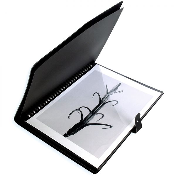 Pampa Ring Album black with 10 Polyester Pages