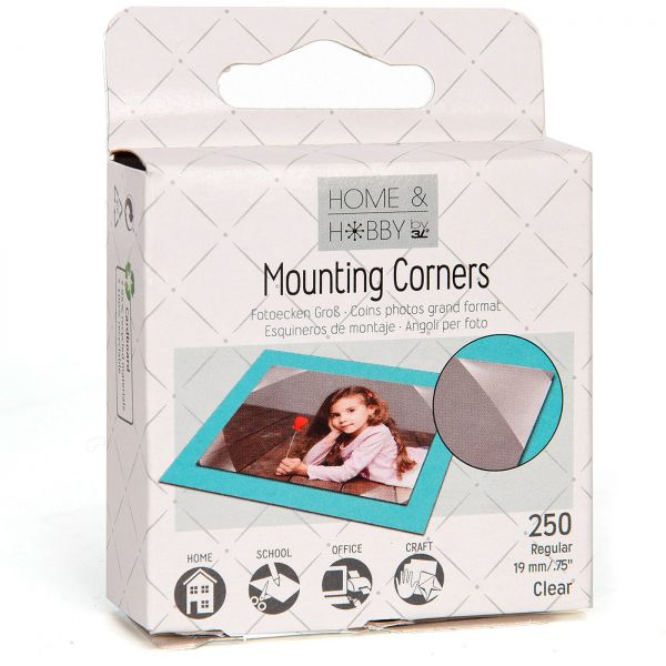 3L Photo Mounting Corners