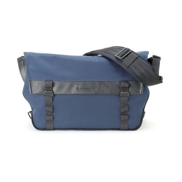 Artisan&Artist RED LABEL RDB-MG300 Messenger-Tasche Blau - Einzelstück