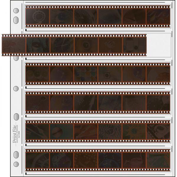 PrintFile® Ordnerhüllen ULT35-6BXW für 6 Streifen Kleinbild 35mm Ultima PP