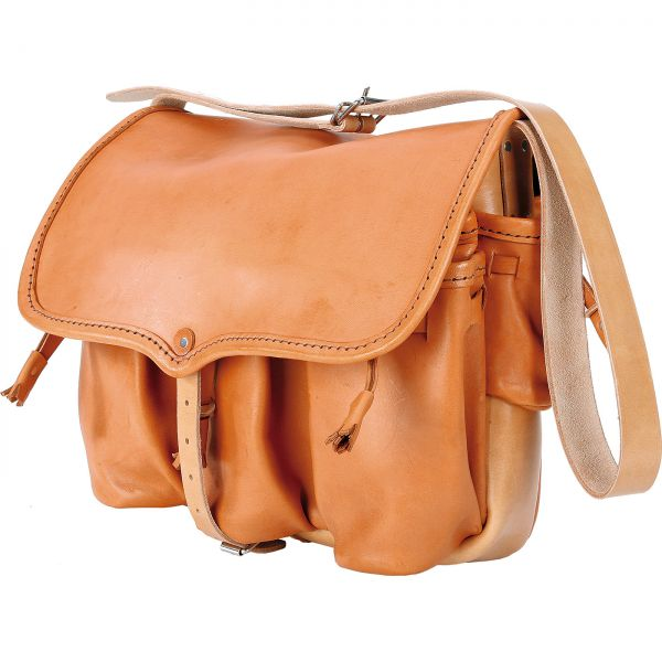 Carnier Leather Bag from France