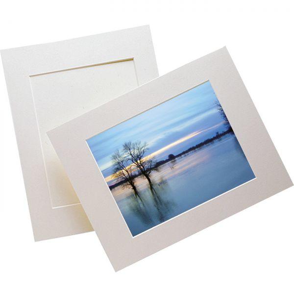 Monomat® UP Foto-Passepartoutkarton ungepuffert 0,75 mm 40x50 cm 20 Bögen