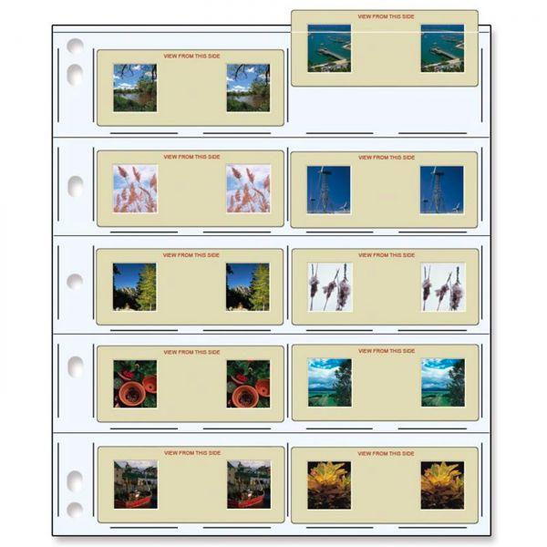 PrintFile® Ordnerblätter für Stereo Dias Stück