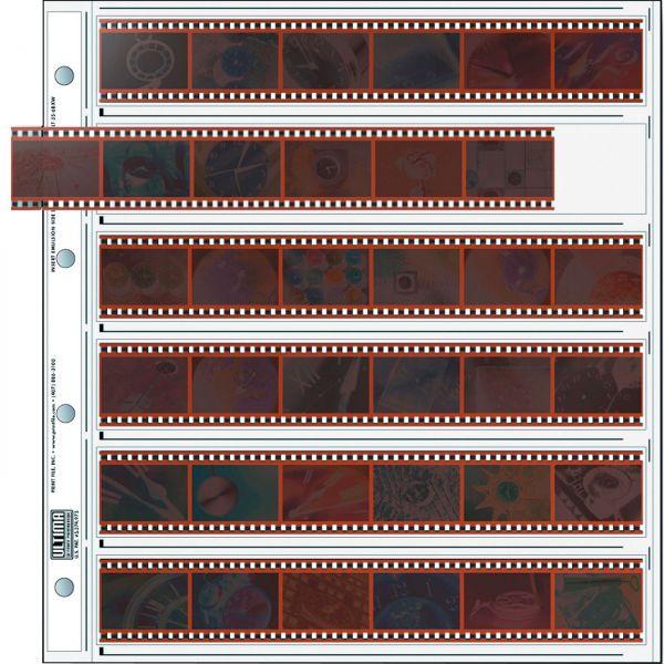 PrintFile® Negativ-Ordnerhüllen ULT35-6BXW für 6 Streifen Kleinbild 35mm Ultima PP