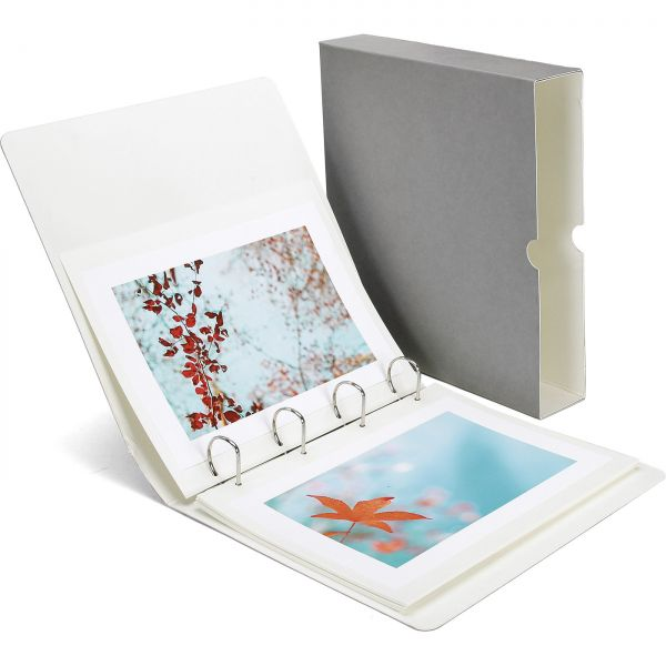 Monochrom® Ringalbum DIN A4 grau