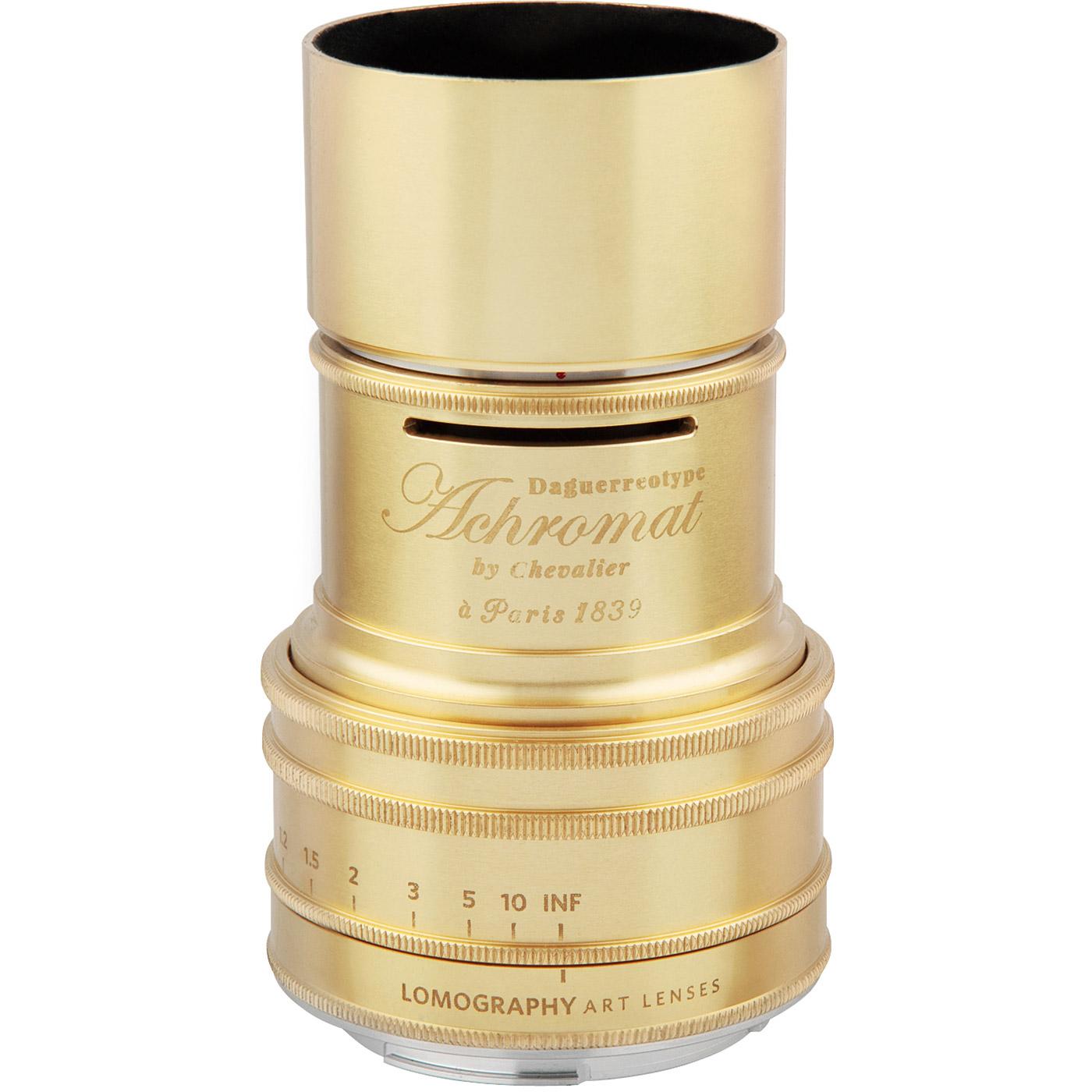 Daguerreotype Achromat 29 64 Messing Lomo Petzval 85 F 22 Bokeh Control Lens Brass Sonstiges Monochrom Shop