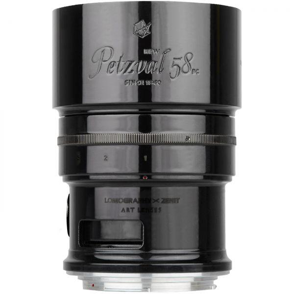 New Petzval 58 Bokeh Control Art Lens Schwarz