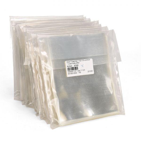 Sonderposten: 30 x Polyester Klarsichttaschen 110x135mm je 50 Stück