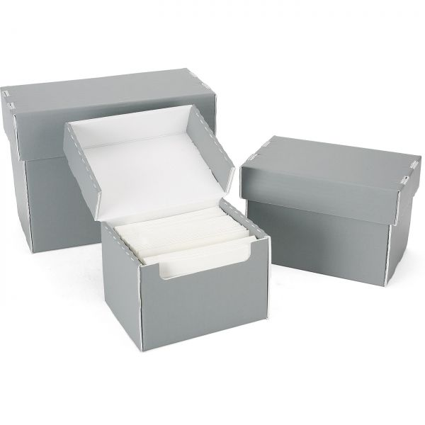 Monochrom Corrugated Archival Film-Boxes - Packs of 10