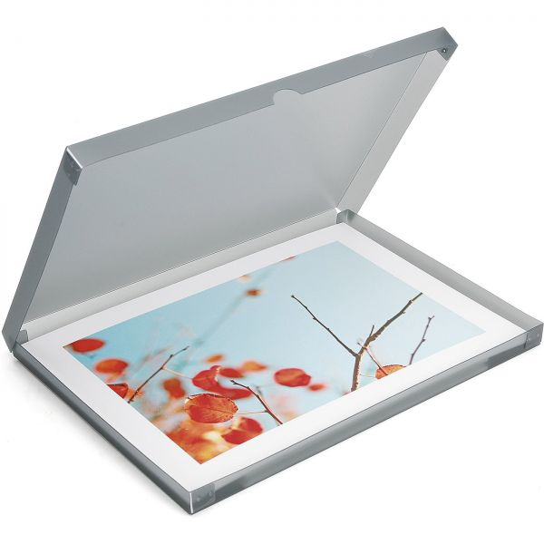 PP-Archivbox anthrazit - transparent