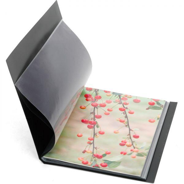 Monochrom Low-Budget-Portfolio - 1 Karton mit 12 Stück