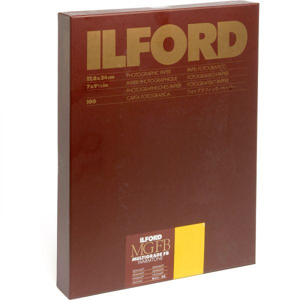 IIford Warmtone FB MGW. 24K semimatte