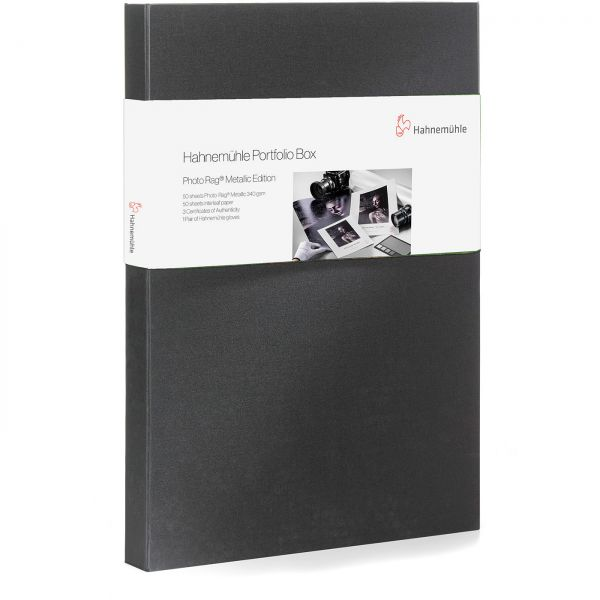 Hahnemühle Portfoliobox DIN A3+ with 50 Sheets FineArt Baryta Satin 300 – Limited Edition