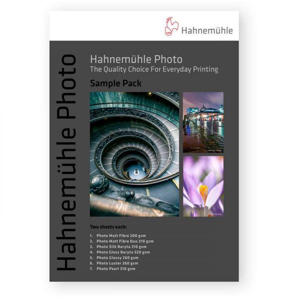 Hahnemühle Photo - Musterbuch bedruckt