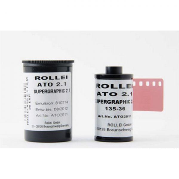 Rollei ATO Supergraphic 2.1 135/36 - 20 SW-Filme - abgelaufen 08/2012